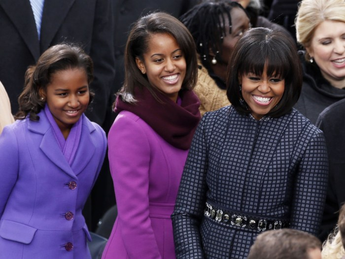 Michelle obama dating advice for her daughters