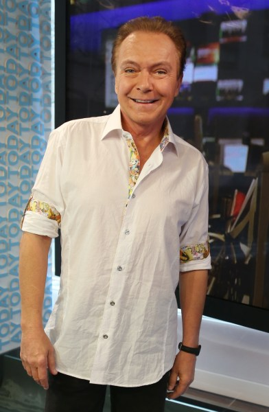 David Cassidy Thursday, March 21, 2013, in New York, N.Y. (Rebecca Davis / TODAY)