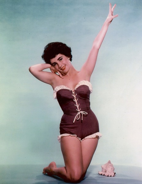 Actress Elizabeth Taylor is shown in this undated publicity photograph.