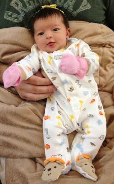 Samantha Lynn Ceballes, born March 6, Mesa, Ariz.