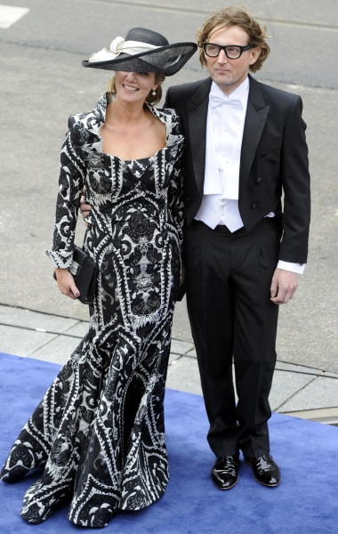 Dutch Prince Bernhard and Princess Annette arrive at Nieuwe Kerk church before the religious crowning ceremony in Amsterdam April 30, 2013. Queen Beat...