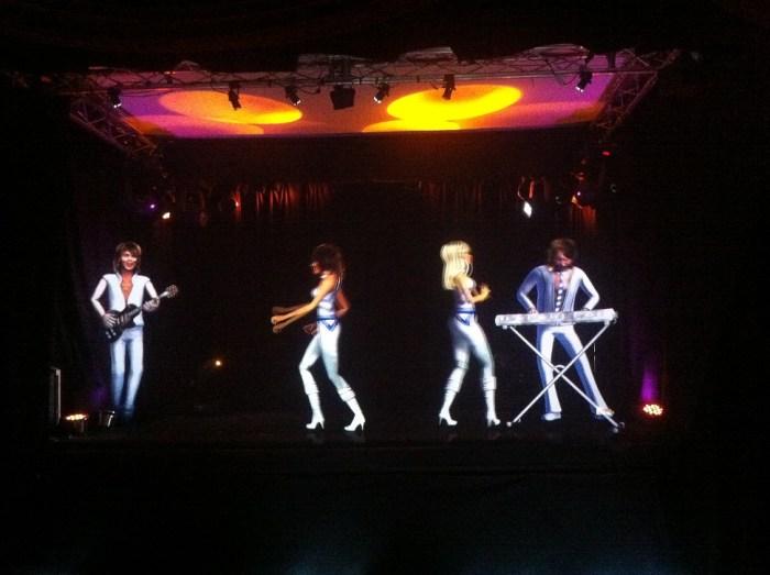 ABBA holograms.