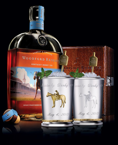 Kentucky bourbon maker Woodford Reserve is offering a $1,000 mint julep for the Kentucky Derby, with the proceeds going to benefit retired racehorses