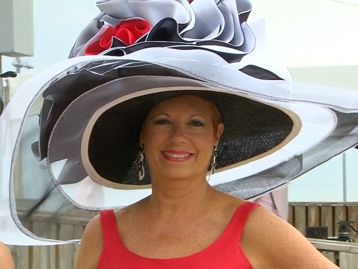 "The ""Patty"" is the grande dame of the Derby hats."