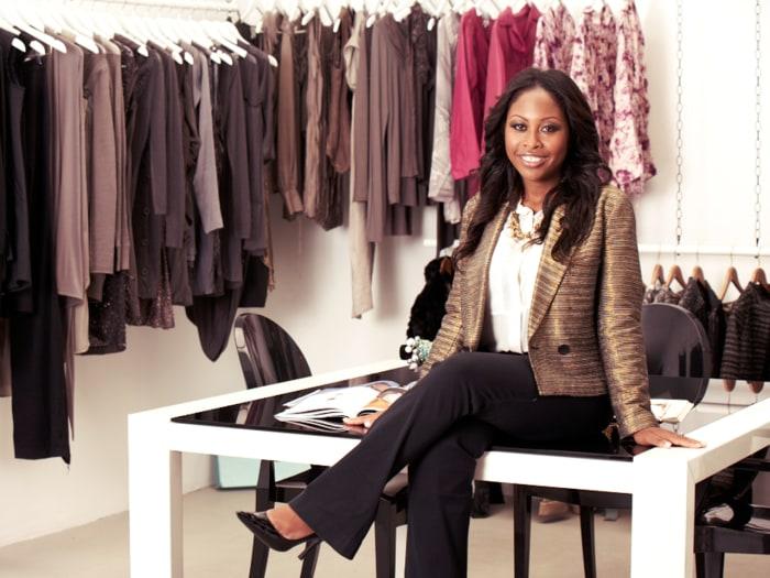 Fashion blogger Sade Strehkle