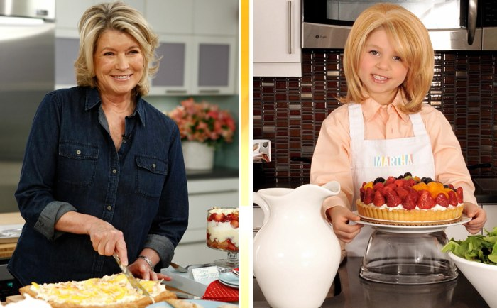 Martha Stewart gets the Toddlewood treatment.