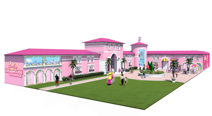 Barbie 39 S Dreamhouse Now Life Size Reality In Florida