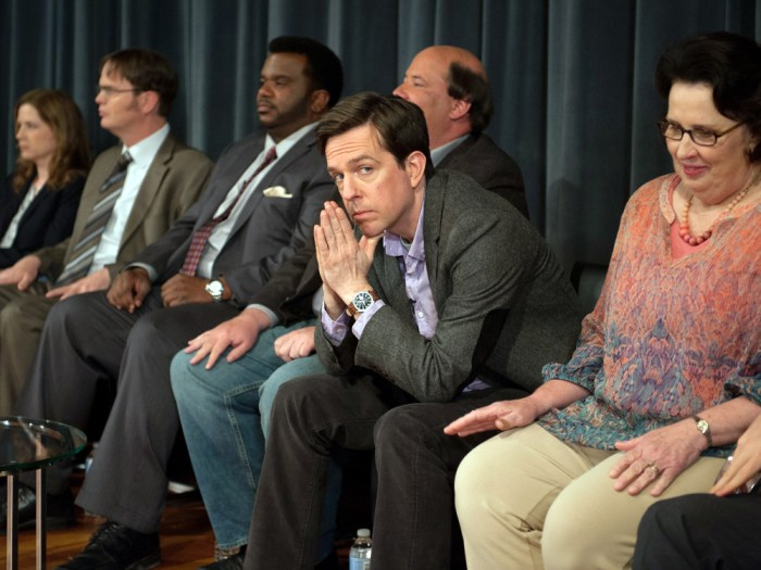 "The cast of ""The Office"" says ""so long."""