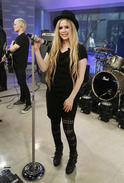 Avril Lavigne Friday, May 17, 2013, in New York, N.Y. (Rebecca Davis / TODAY)