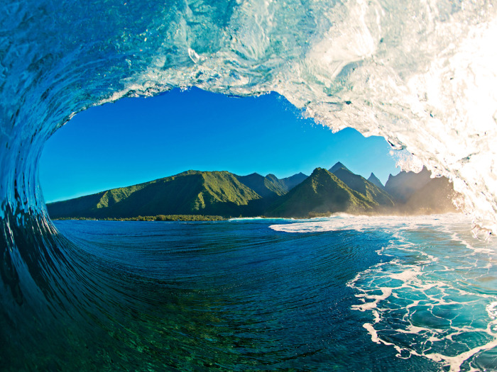Little grabbed this shot in Tahiti.
