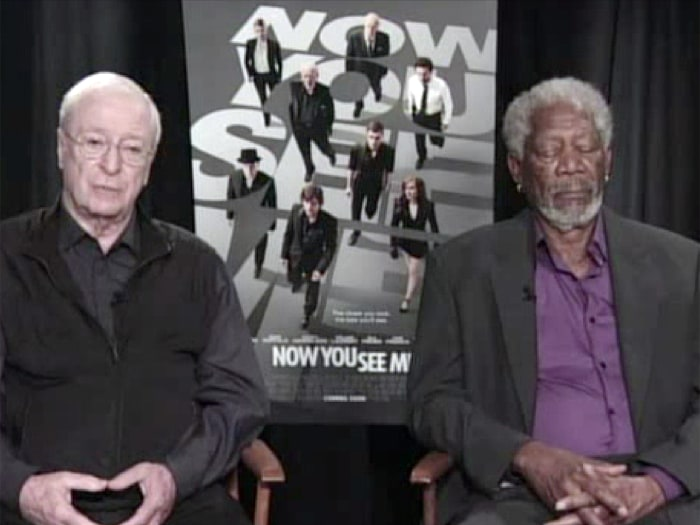 IMAGE: Michael Caine, Morgan Freeman
