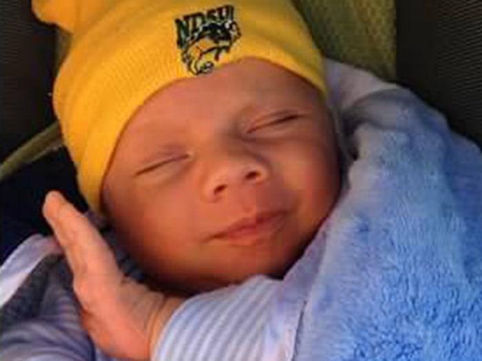 Cullen Kristopher McGuire, born April 8, Barnesville, Minn.