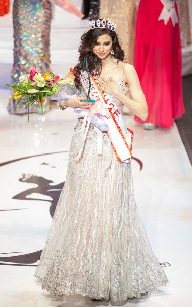 Denise Garrido, 26, initially was named Miss Universe Canada before it was discovered that a typo made while tabulating results meant that she had actually finished fourth. etermined that she had actually finished fourth.