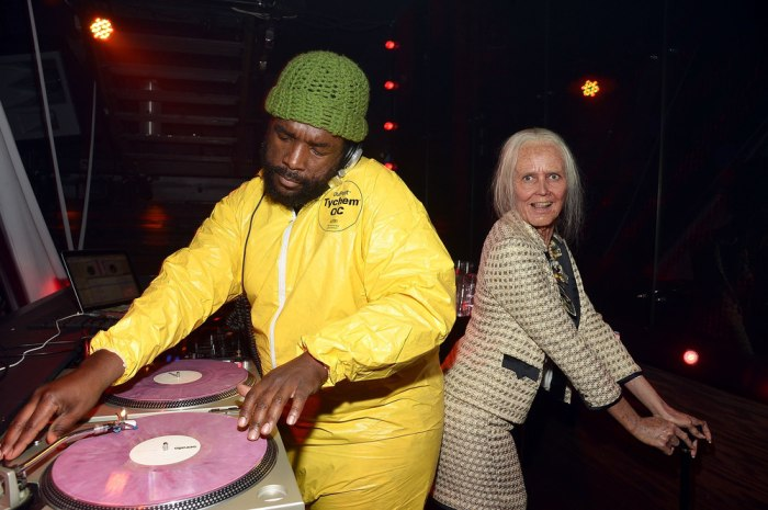 Image: Questlove and Heidi Klum