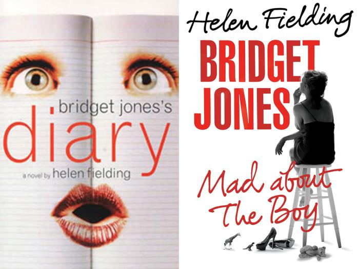 Bridget Jones book ocvers
