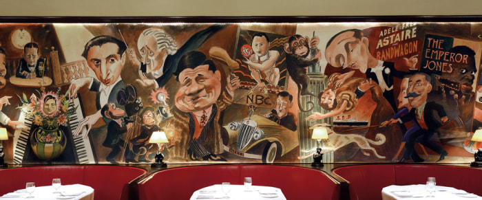 39 big and bold and beautiful 39 discovering new york city 39 s for Bemelmans bar mural