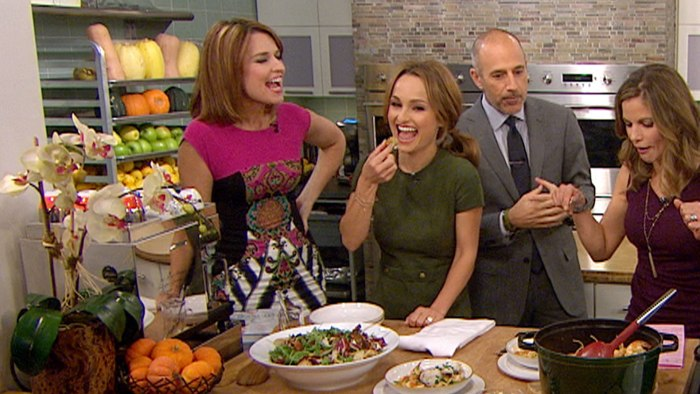 Giada De Laurentiis on TODAY with Matt Lauer and Savannah Guthrie