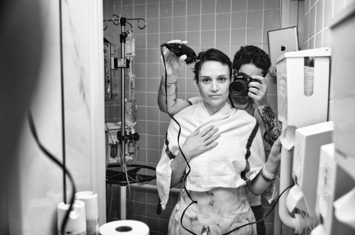 A touching tribute: Husband chronicles wifes breast