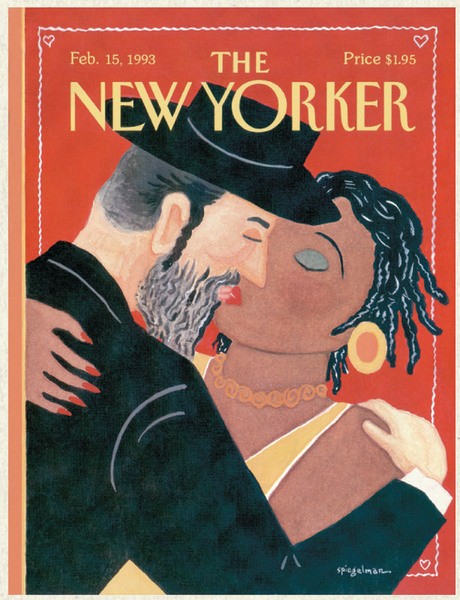 One of Art Spiegelman's often controversial New Yorker covers.