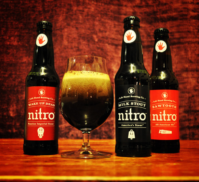 Left Hand Brewing's nitro beers