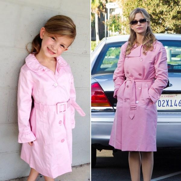 Savannah dressed as Brenda Leigh Johnson from 'The Closer.'