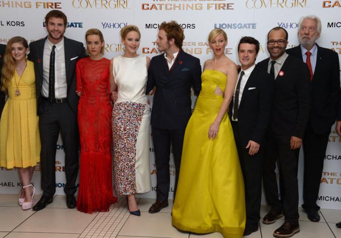 """Image: """"Hunger Games"""" cast"""