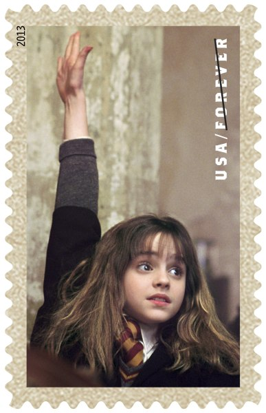 Harry Potter collection of stamps