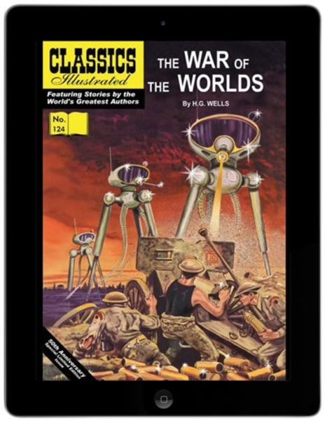 "Classics Illustrated ""The War of the Worlds"""