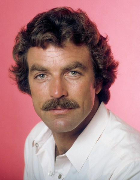 Tom Selleck, circa 1982. (Photo by Getty Images)