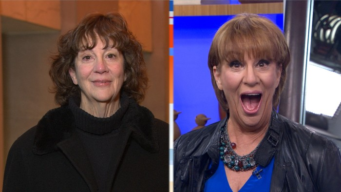 Pat VanOrman, before and after her makeover.