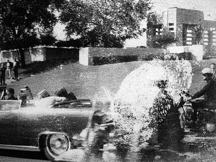 Image: Historic photo of JFK being shot on Nov. 22, 1963