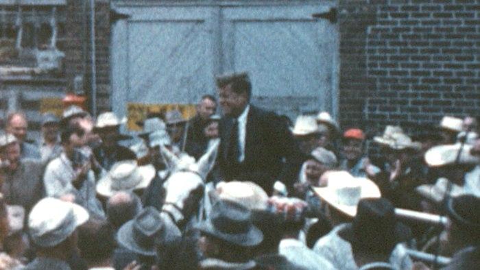 JFK on mule