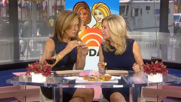 Kathie Lee and Hoda tried a turkey-stuffed pastry on Friday.