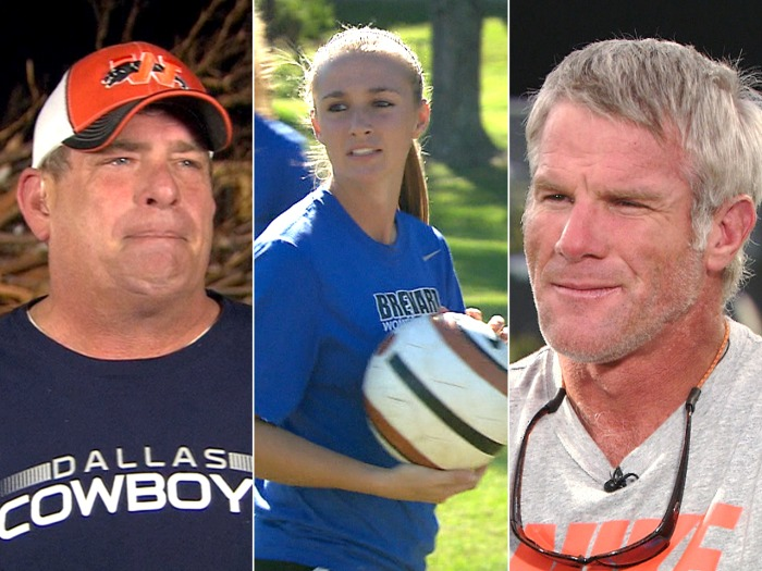 Tornado victim Scott Gundy talks about the devastation, Bree McMahon gets back on the field and Brett Favre looks back on a 20-year career.