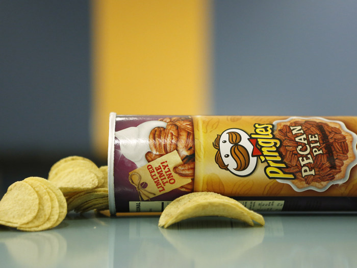 pringles pecan pie chips
