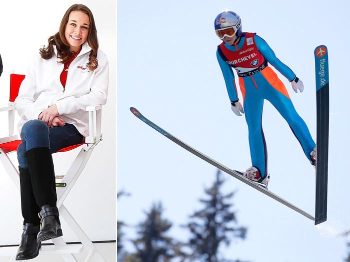 Sarah Hendrickson, ski jumper