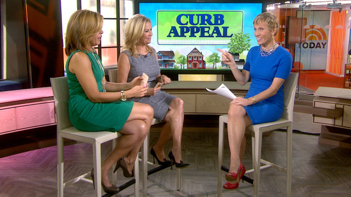 Real estate pro Barbara Corcoran helps give your home more curb appeal.