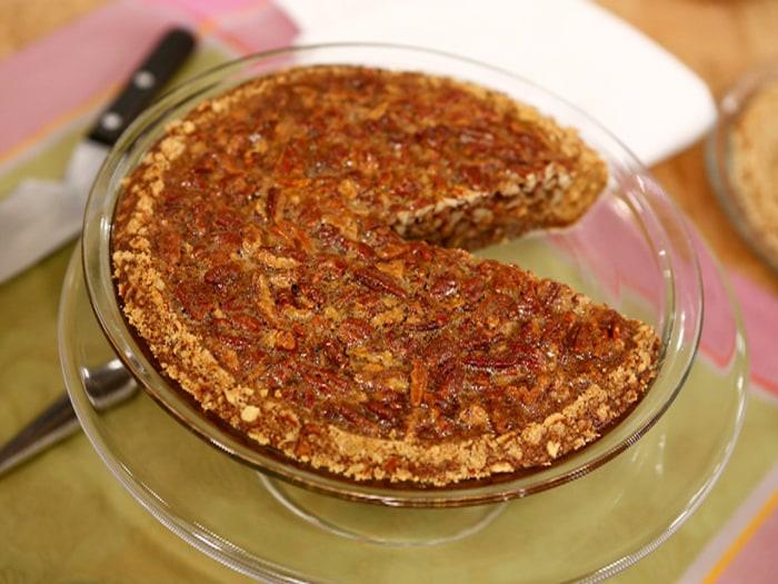 Jamie Deen's pecan pie
