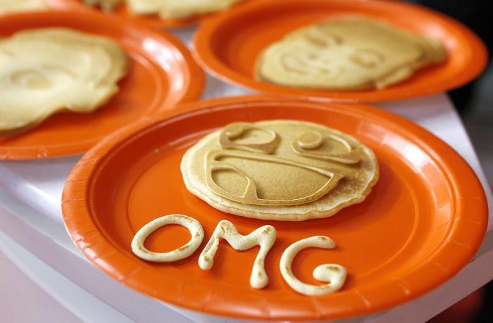 One of Dan the Pancake Man's creation.