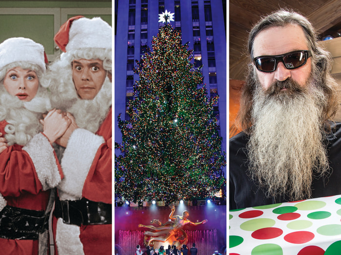 """""""I Love Lucy,"""" the Rockefeller tree and Phil Robertson of """"Duck Dynasty."""""""