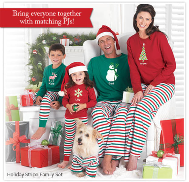 Bring the whole family together this Christmas with matching PJs from PajamaGram!
