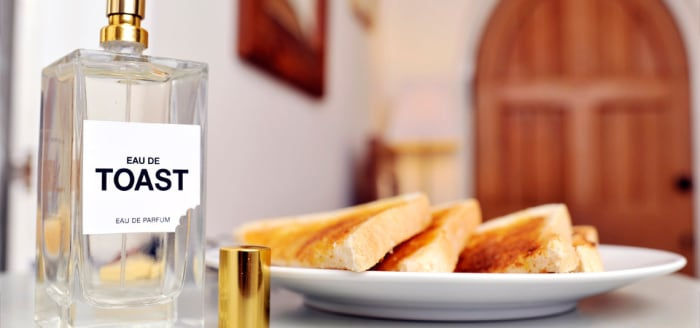 Eau de Toast is part of a campaign to encourage people to eat more bread.