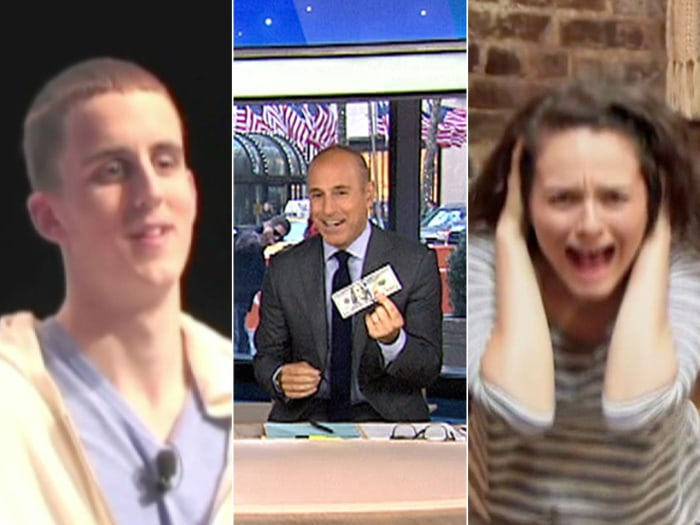 TODAY highlights: Kevin Breel gives a TED talk on depression; Matt Lauer holds up the new $100 bill; a viral Halloween prank.