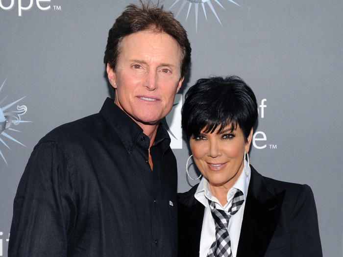 Bruce Jenner and Kris Kardashian announced their separation.