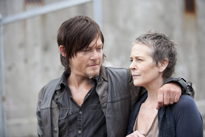 Image: Daryl and Carol