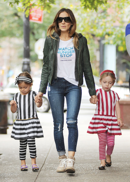 Sarah Jessica Parker's twins, Tabitha and Marion.