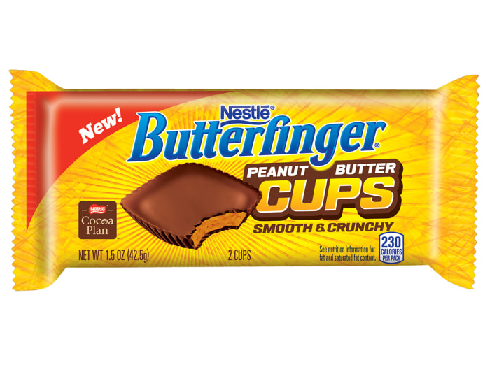 Butter Finger Peanut Butter Cup