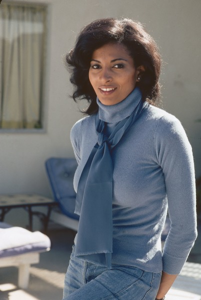 Actress Pam Grier is pictured in 1976.  (Moneta Sleet, Jr./Ebony Collection via AP Images)