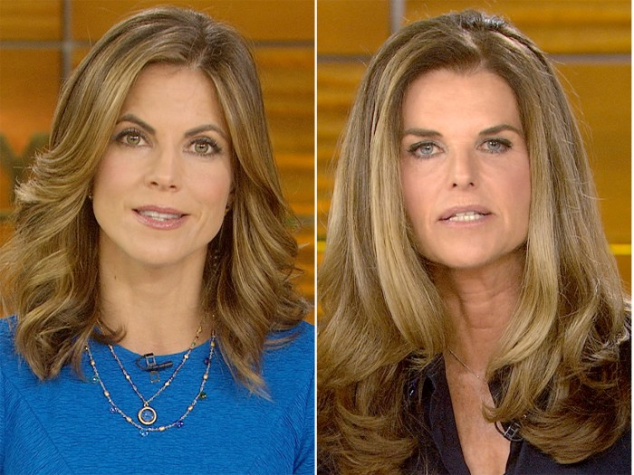 Natalie Morales and Maria Shriver on TODAY