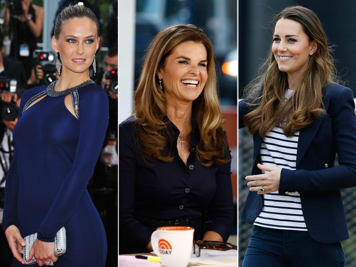 Israeli model Bar Rafaeli; Maria Shriver on TODAY; Duchess Kate shows off her moves.